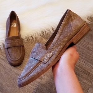 NEW Gianni Bini | Metallic Brown Loafers